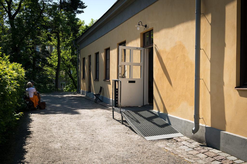 Slöjdhuset på Eastmansvägen 34. Vetenskapsjournalisternas lokal. Foto: Anders Löwdin